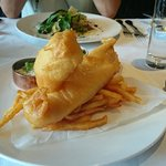 Fish and chips on request. Great batter!