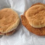 Grilled and Breaded Tenderloins