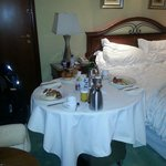 Room service breakfast due to early check out