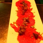 Beef Carpaccio small plate