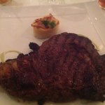 Surf and Turf steak... IT was HUGGGGGGEEEEEEE!