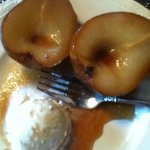 "Poached pear breakfast ""dessert"""