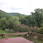 Peach Blossom Cabin - View from the Hot Tub  July 2014