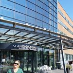 Entrada do Hotel Scandic Sydhavenem
