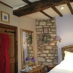 Classic wooden beams