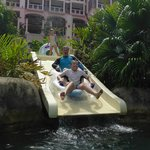 Lazy river tube slide - awesome