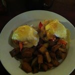 Lobster Eggs Benedict / Before