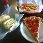 Philly, Fries & a Slice