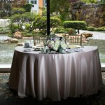 Thousand Cranes - sweetheart table at wedding reception