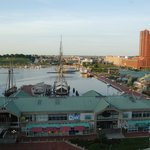 Baltimore's Inner Harbor just after dawn
