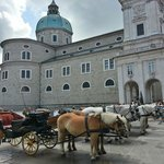 Horses and Cathedral