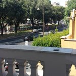 View overlooking park. Walk this way 5 mins to Termini.