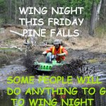 Friday is Wing Night