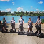 Segway tours are offered right next to the hotel at http://www.glidingrevolutjon.com