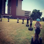 Team Building with Segways is offered in the field next to the hotel by Gliding Revolution!
