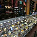 Huge selection of tortes, chocolates and truffles