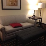 couch in front room.