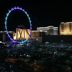 The High Roller - View from my room