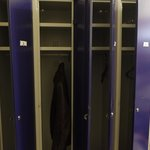 lockers inside the room
