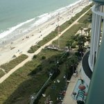 صورة فوتوغرافية لـ ‪Hampton Inn & Suites Myrtle Beach Oceanfront Resort‬