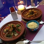 Kasbah Tamadot cooking class success & poolside dining