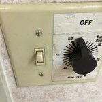 After you wash your Hands, Don't touch that Light switch or you'll have to wash again !