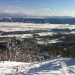 View from top of Furano Mountain