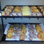 Fresh pastries every morning
