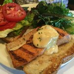 Atlantic salmon sandwich