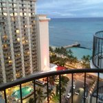 View of Waikiki Beach from Room