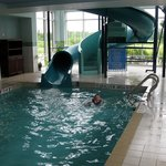 Pool Area - Hampton Inn Moncton