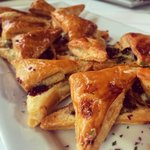 Roasted Grape and Stilton Tapas