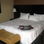 King Bed Room - Hampton Inn Moncton
