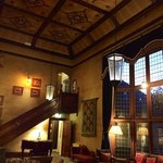 the baronial style hall