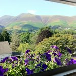 room view of skiddaw