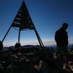 Top of Jebel Toubkal