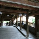 Japanese Covered Bridge Foto