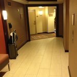 View of room #1000 from the elevator bank