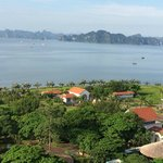 Halong Bay from Room Window