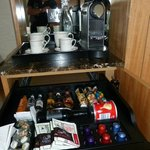 Excellent Coffee, Tea and Mini Bar