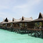 Foto van Mabul Water Bungalows