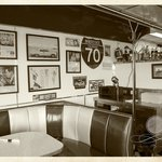Interior, front of the diner