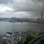 view of Kowloon from room