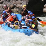 Rafting the lower New River