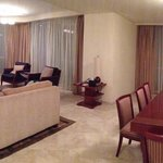 Living / Dining Area of 4 Bedroom Deluxe Apartment
