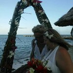 We renewed our vows for our 20th anniversary and the fabulous staff at Mata Rocks took care of e