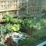 Sam's Town indoor park view from room