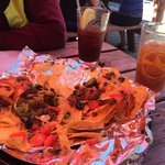 Incredible Emu Nachos! And IcedTea