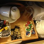 Coffee/Tea Supplies in the Room