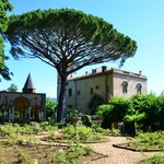 Villa Cimbrone from the gardens